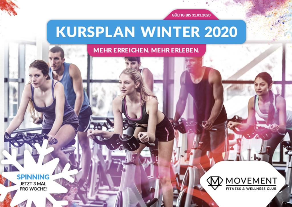 MOVEMENT SPINNING MÜNCHEN 1024x726 - Kursplan Winter 2020 : Sonntags zusätzlich Spinning