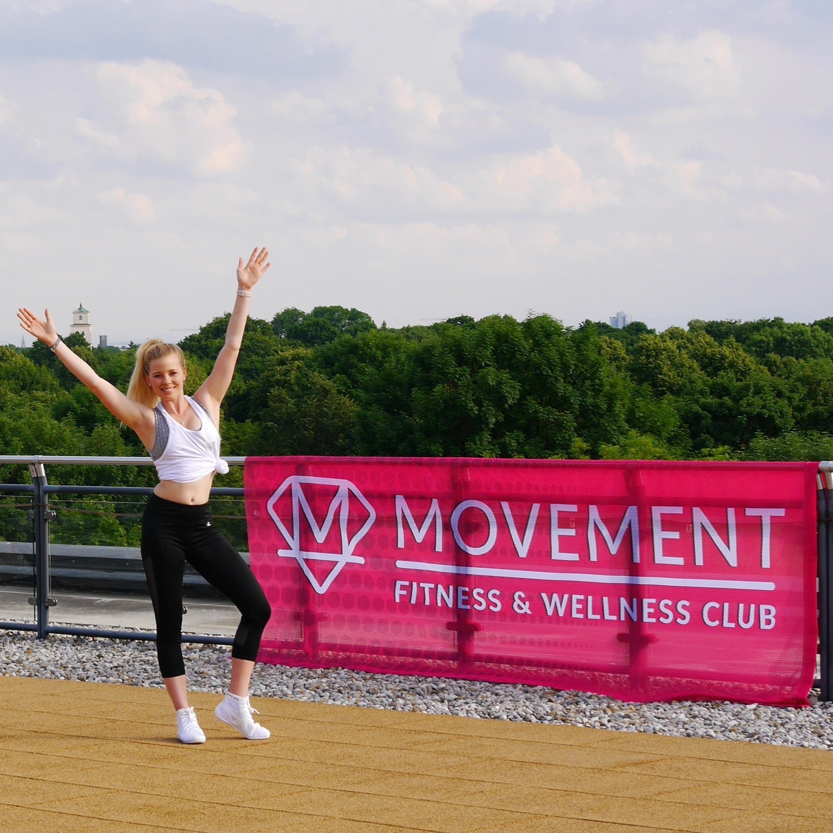 Fitness Event 3 - Rooftop Fitness