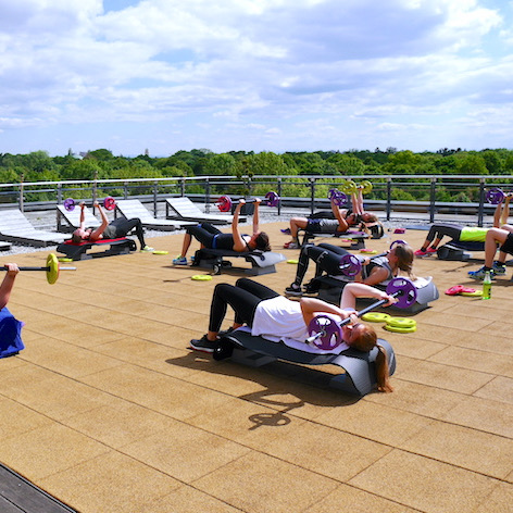 Kurs 5 - Rooftop Fitness