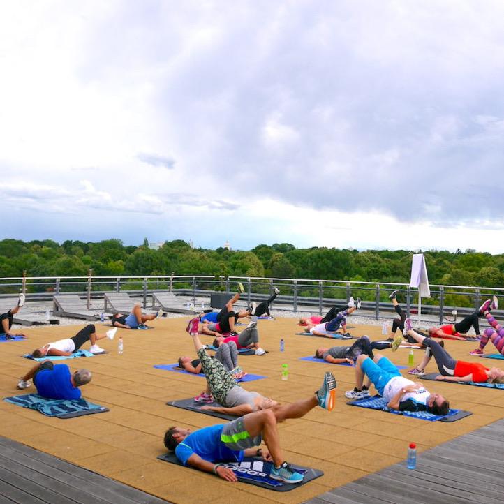 Rooftop Kurs 6 - Rooftop Fitness